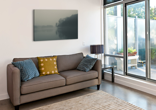 FOG AND PEACE COREY DOUGLAS  Canvas Print