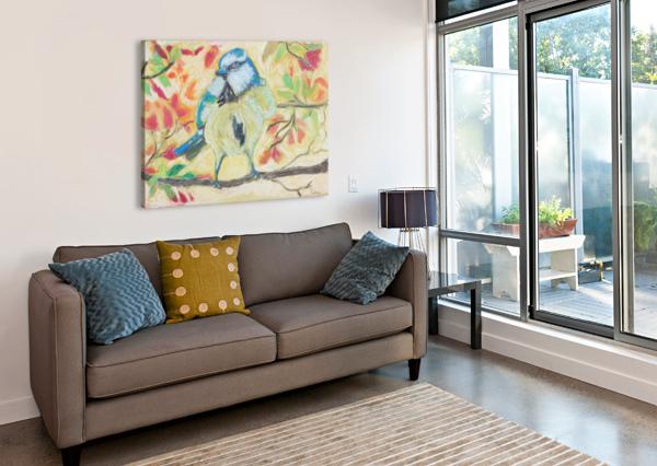 ANGRYBIRD PALLAVI SHARMA  Canvas Print