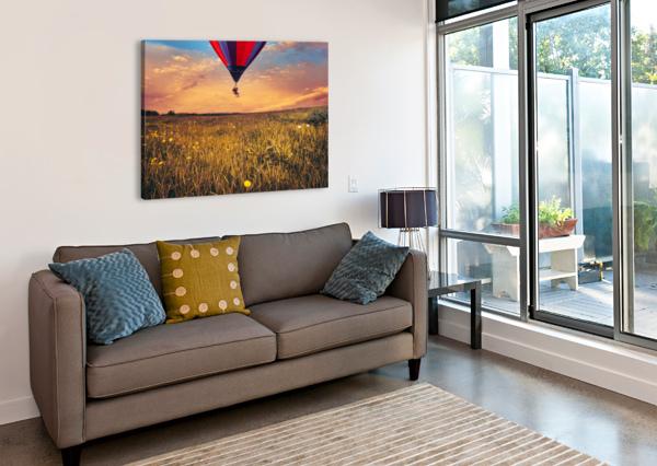 THE AERONAUT BOB ORSILLO  Canvas Print