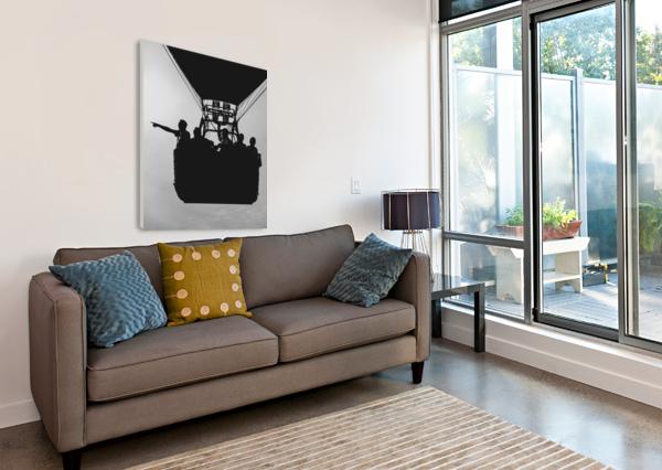 BASKET FULL OF AERONAUTS BOB ORSILLO  Canvas Print