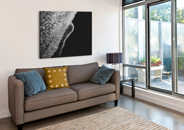 MOONLIGHT WAVES REVERE BEACH BOB ORSILLO  Canvas Print