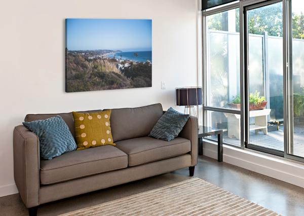 MALIBU CALIFORNIA COREY DOUGLAS  Canvas Print