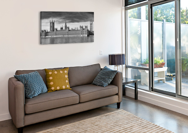 HOUSES OF PARLIAMENT ADRIAN BROCKWELL  Canvas Print