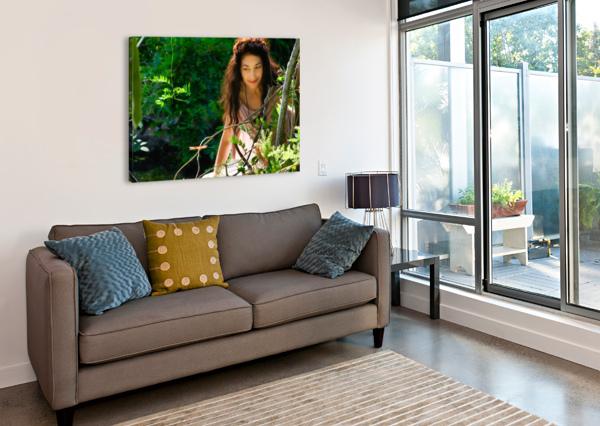 AN AMAZING FRIENDSHIP COLLECTION 2-4 NAZAN SAATCI  Canvas Print