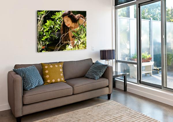 THE TINY MESSENGER COLLECTION 1-4 NAZAN SAATCI  Canvas Print