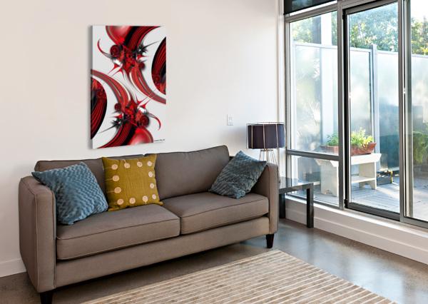 TENDER DESIGN   COMPOSITION CARMEN FINE ART  Canvas Print
