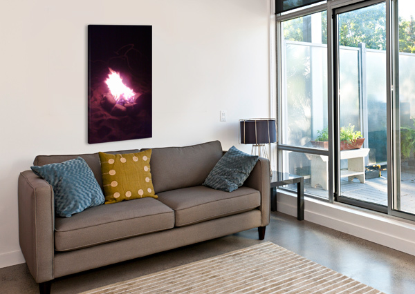 FIRED ALI CHAMA  Canvas Print