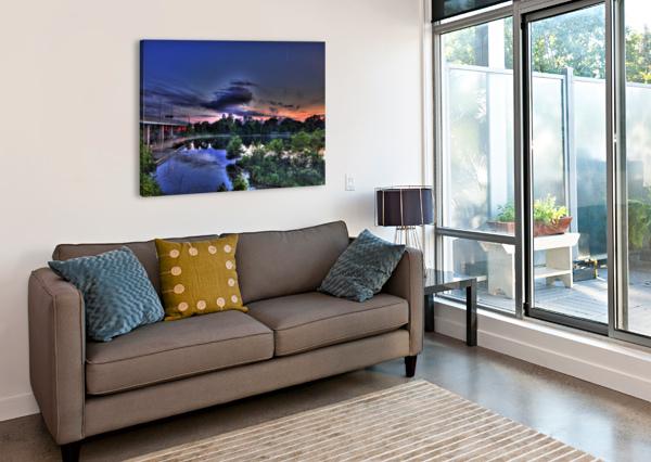 MONTREAL ISLAND FABIEN DORMOY  Canvas Print