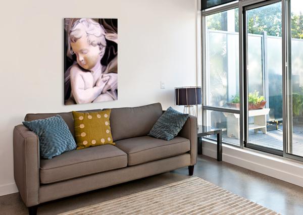 THE CHILD BELLA VISAT ARTIST  Canvas Print
