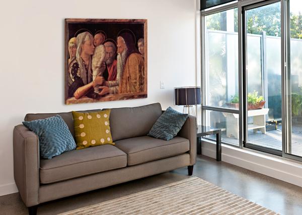 PRESENTATION OF JESUS AT THE TEMPLE ANDREA MANTEGNA  Canvas Print