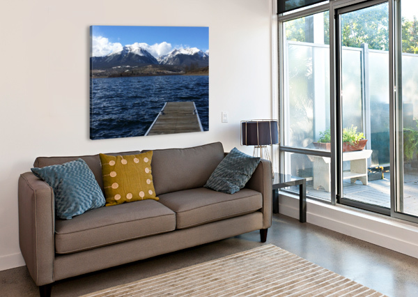 DENVER LAKE ADI  Canvas Print