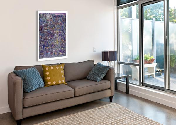 UMULIG TIVOLI - IMPOSSIBLE CARNIVAL BJORNWINSNES  Canvas Print
