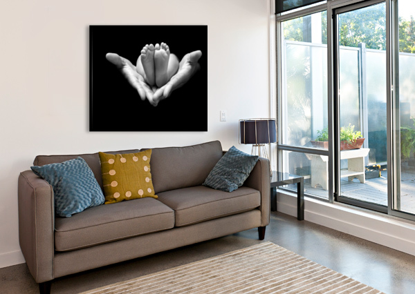 A LITTLE MIRACLE 1X  Canvas Print