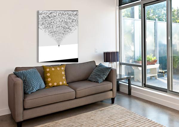 THE DARK HALF 1X  Canvas Print