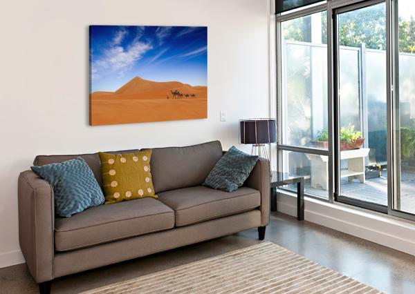 DESERT LIFE .. 1X  Canvas Print