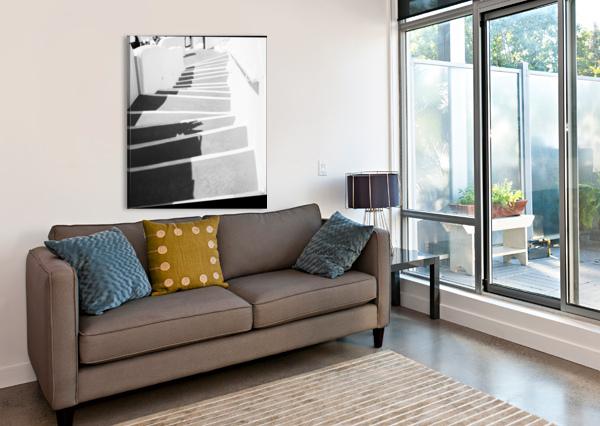 STAIRS FABIEN DORMOY  Canvas Print
