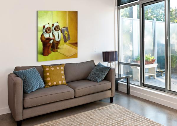 C3PO PAWEL KUCZYNSKI  Canvas Print
