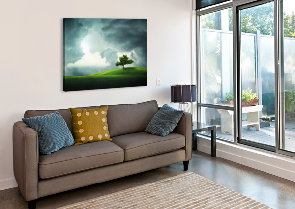 LONELY TREE BESS HAMITI  Canvas Print