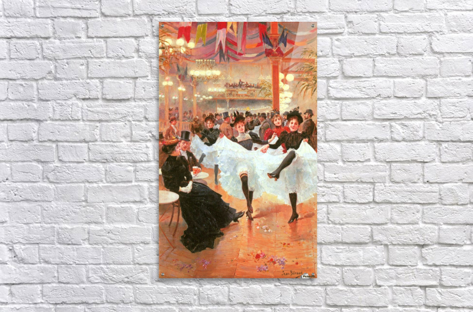 Cafe de Paris  Acrylic Print