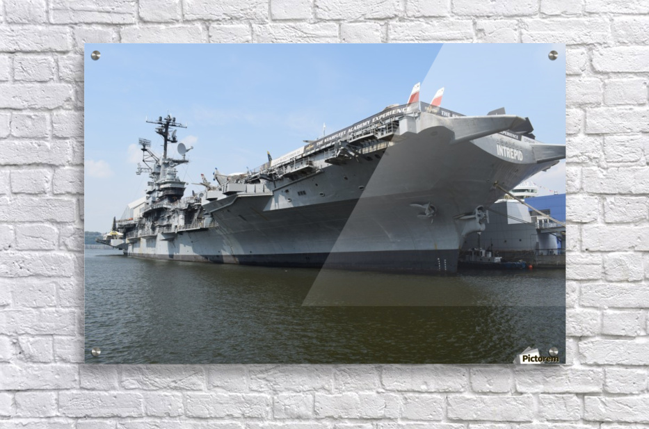 THE INTREPID, NEW YORK  Acrylic Print