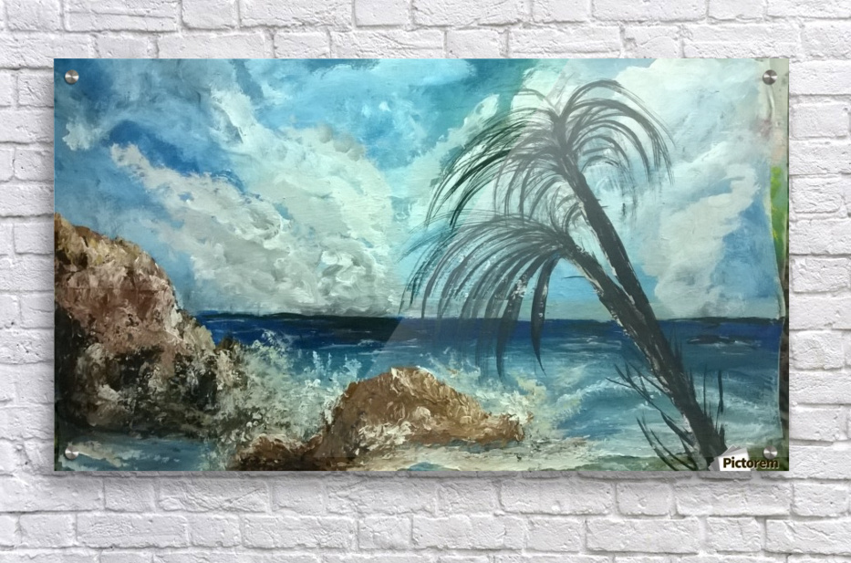 version island     Acrylic Print