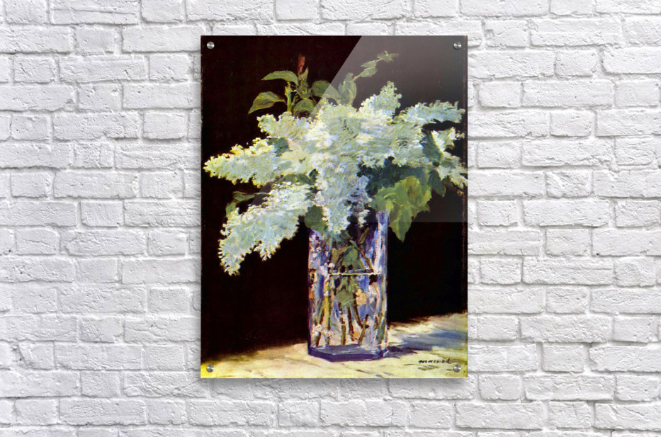 Still Life by Manet  Acrylic Print