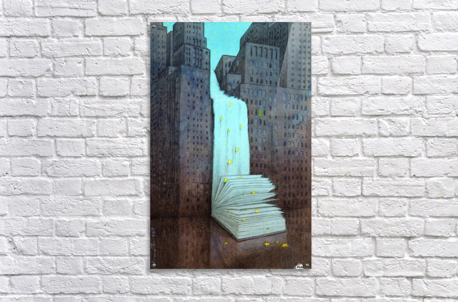 dream book  Acrylic Print