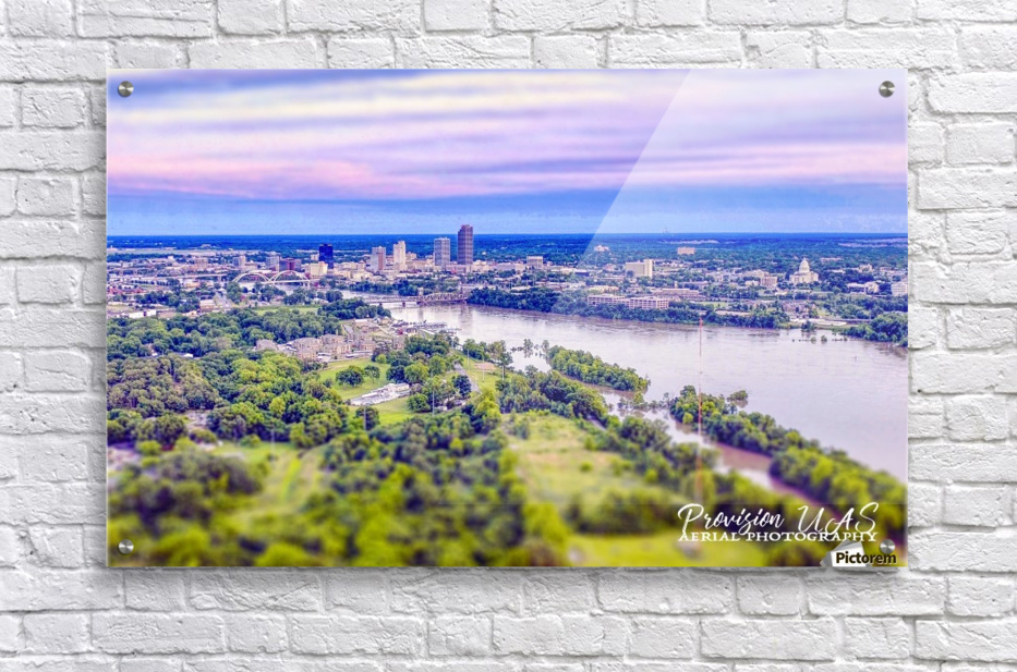 Little Rock, AR | Skyline  Acrylic Print