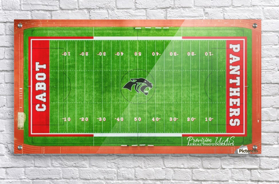 Cabot, AR | Panther Football Field  Acrylic Print