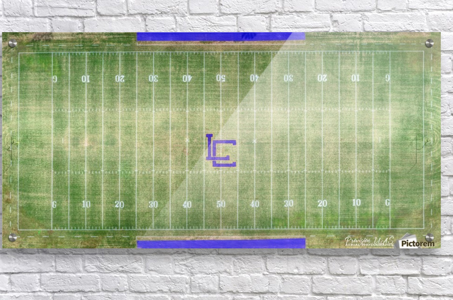 Lawrenceburg, TN | Wildcats Football Field  Acrylic Print