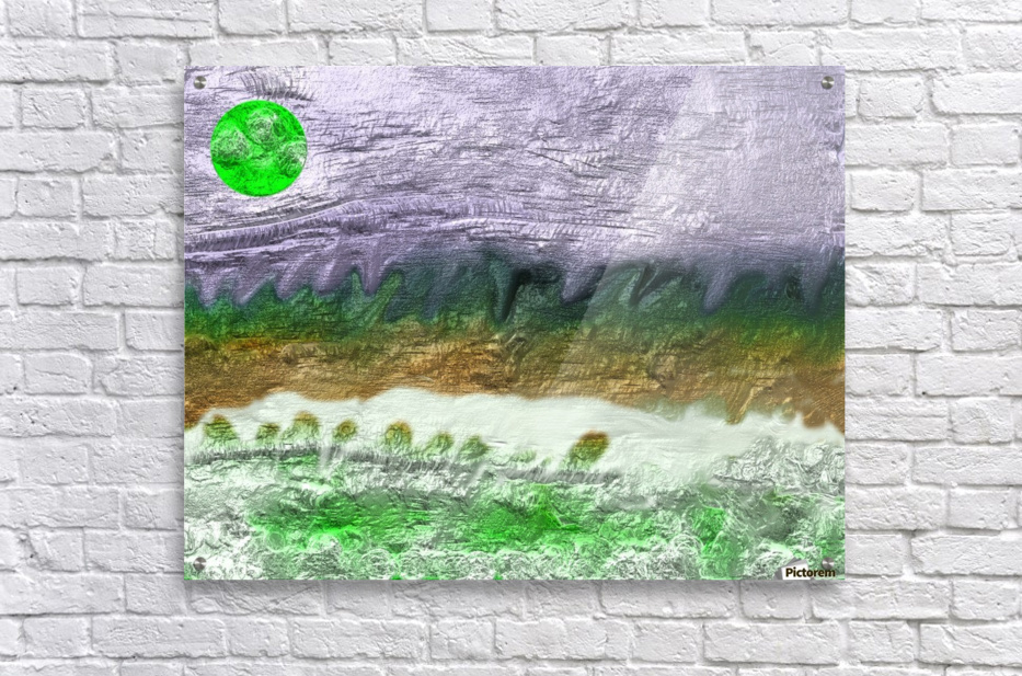 Landscape with Moon 0620  Acrylic Print