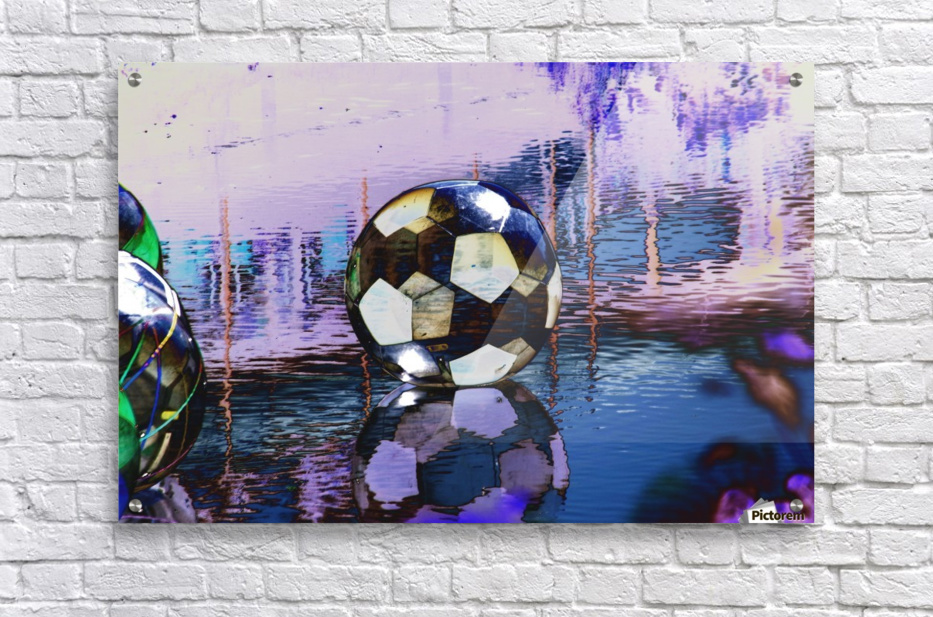 Large water ball.  Acrylic Print