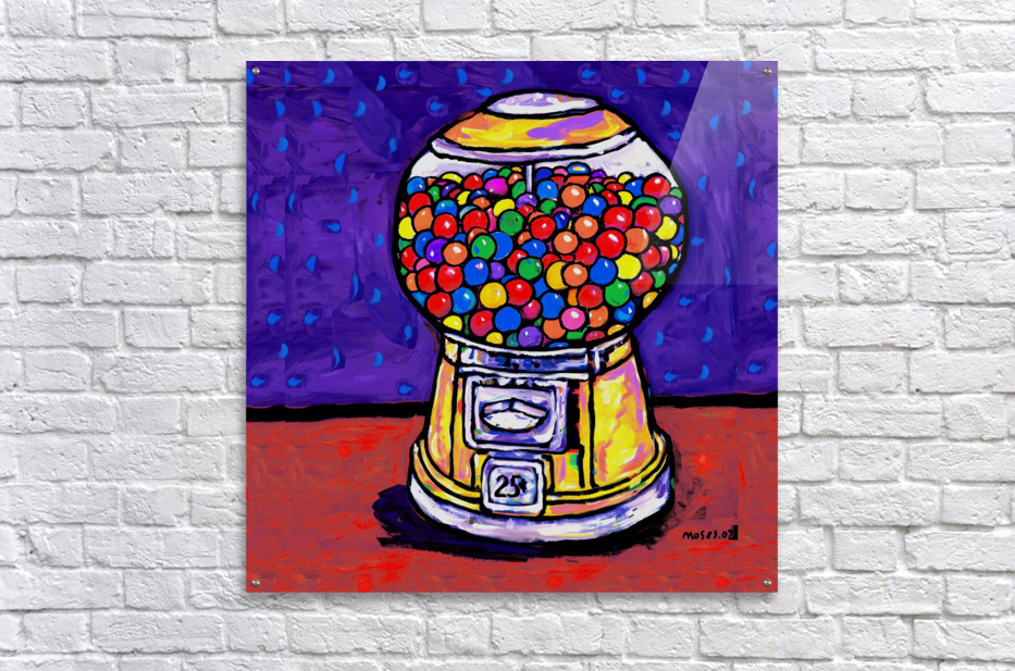 BUBBLE GUM MACHINE  Acrylic Print