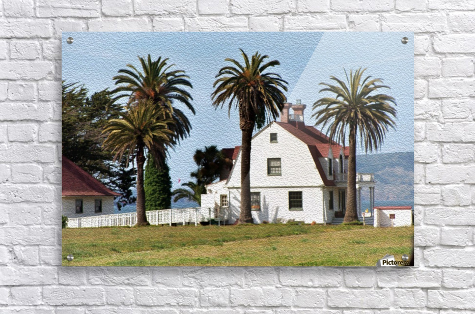 House at San Francisco Presidio Park  Acrylic Print