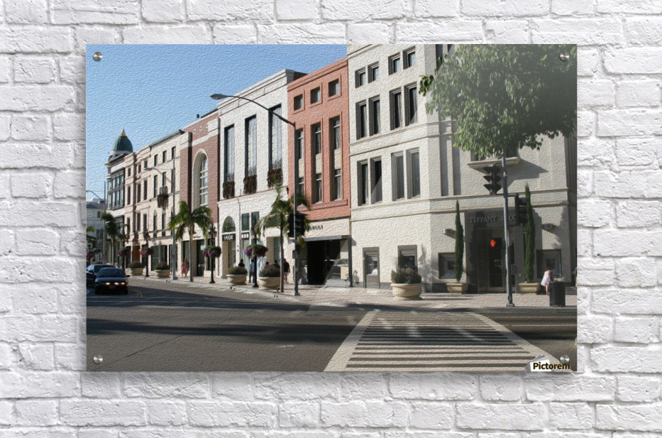 North Rodeo Drive  Acrylic Print