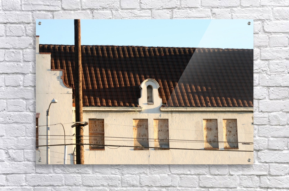Old Building with Shadow  Acrylic Print