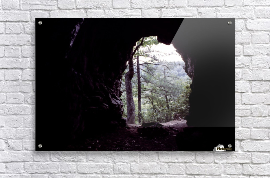 Forest Cave  Acrylic Print