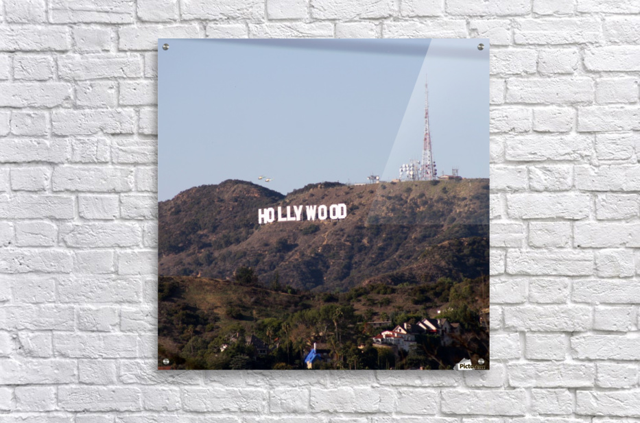 Hollywood and Helicopters  Acrylic Print