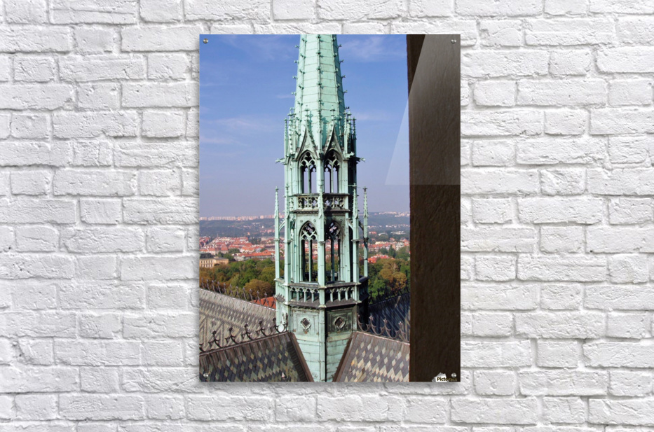 Atop The cathedral in Prague  Acrylic Print