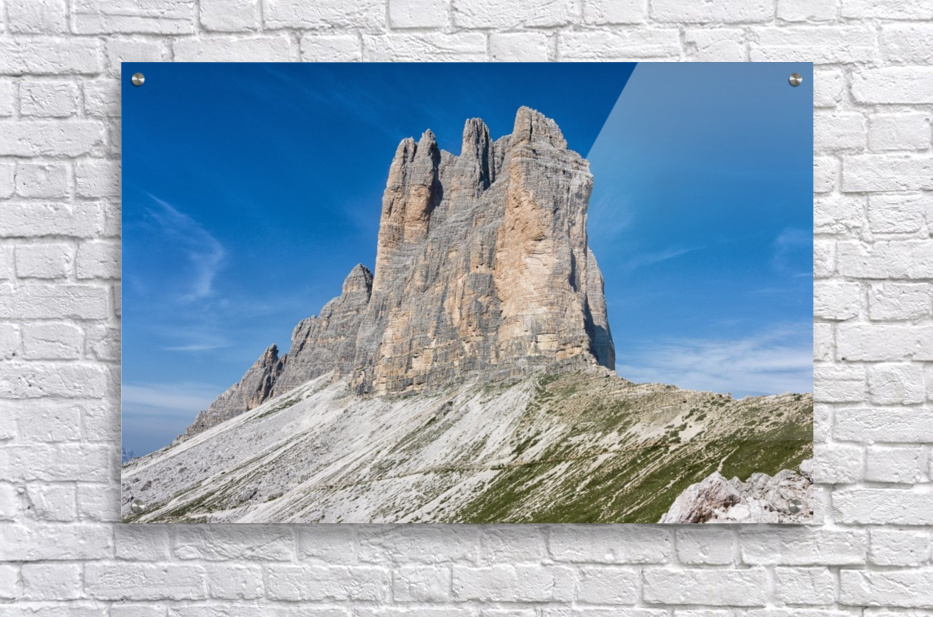 Three peaks of Lavaredo  Acrylic Print