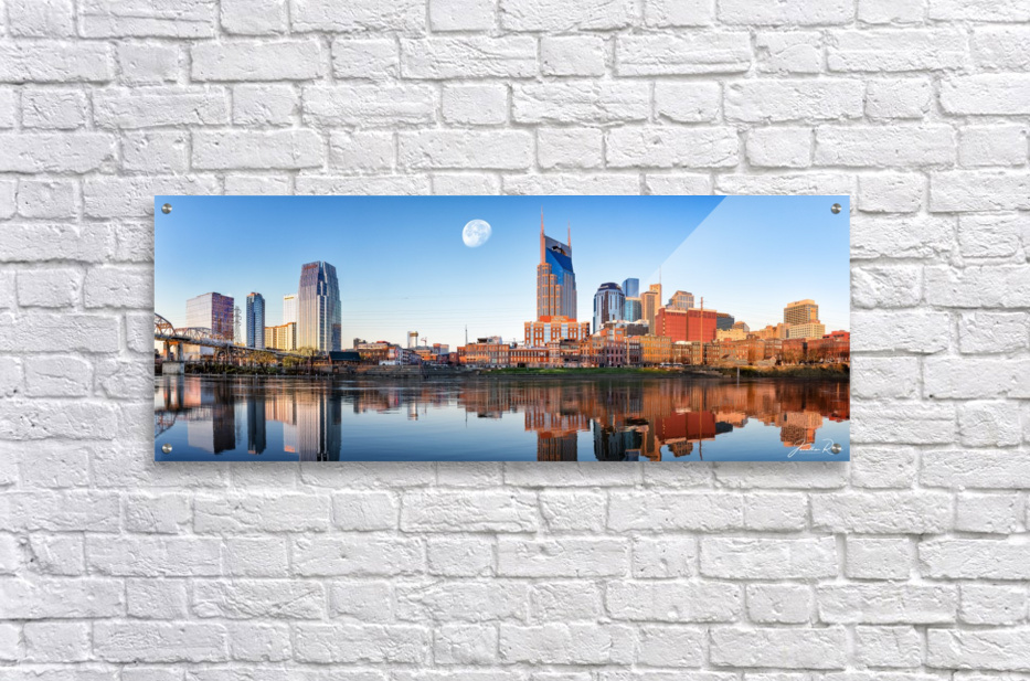 Nashville Skyline in the morning  Acrylic Print