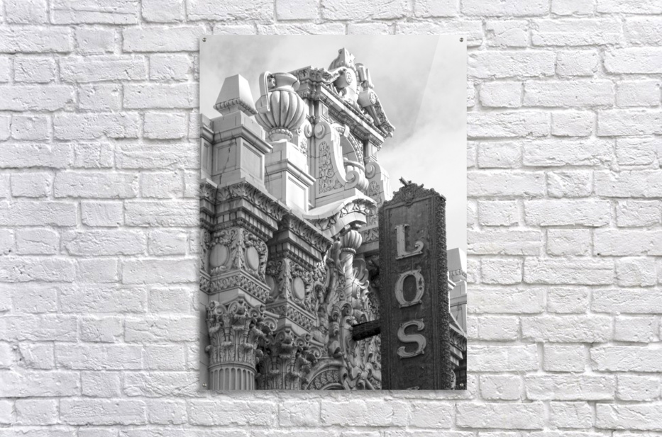 Details Los Angeles Theatre - B&W  Acrylic Print