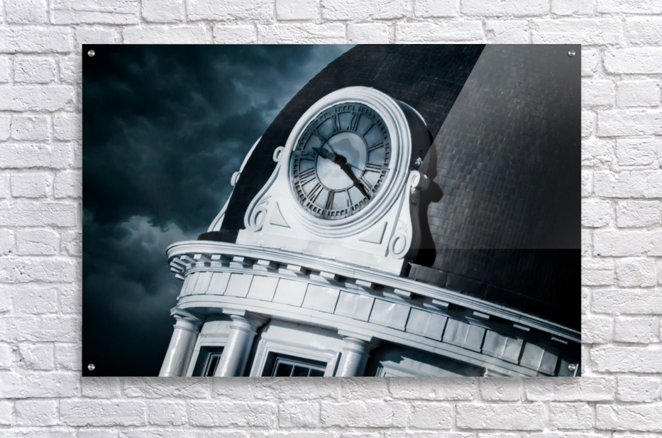 Kingstons Clock  Acrylic Print