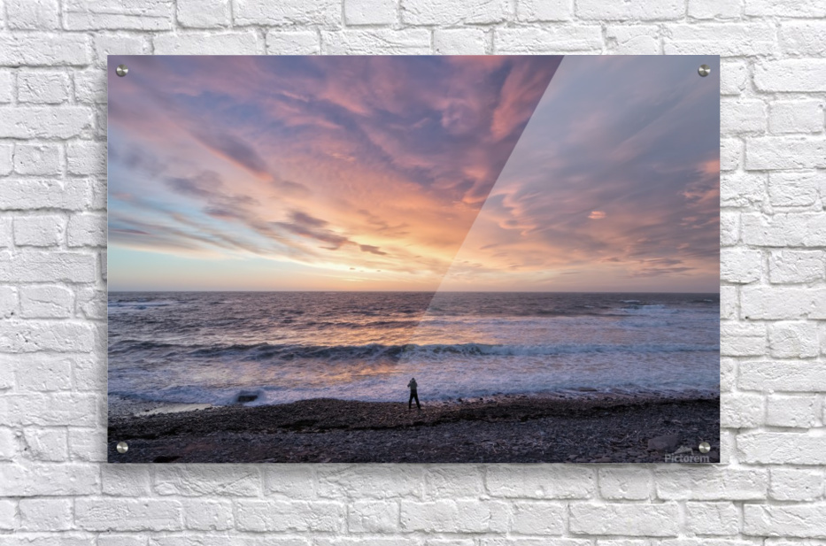 Seaside Sunset  Acrylic Print