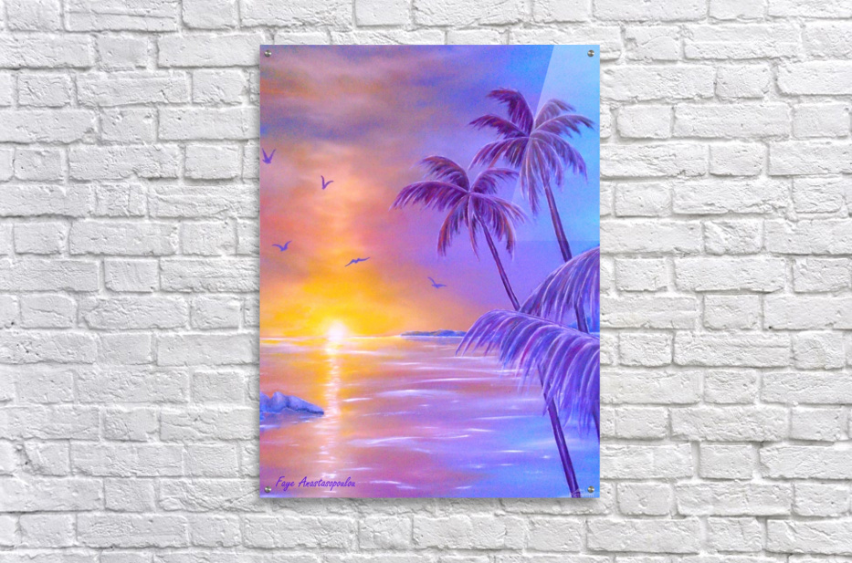 Tropical Breeze  Acrylic Print