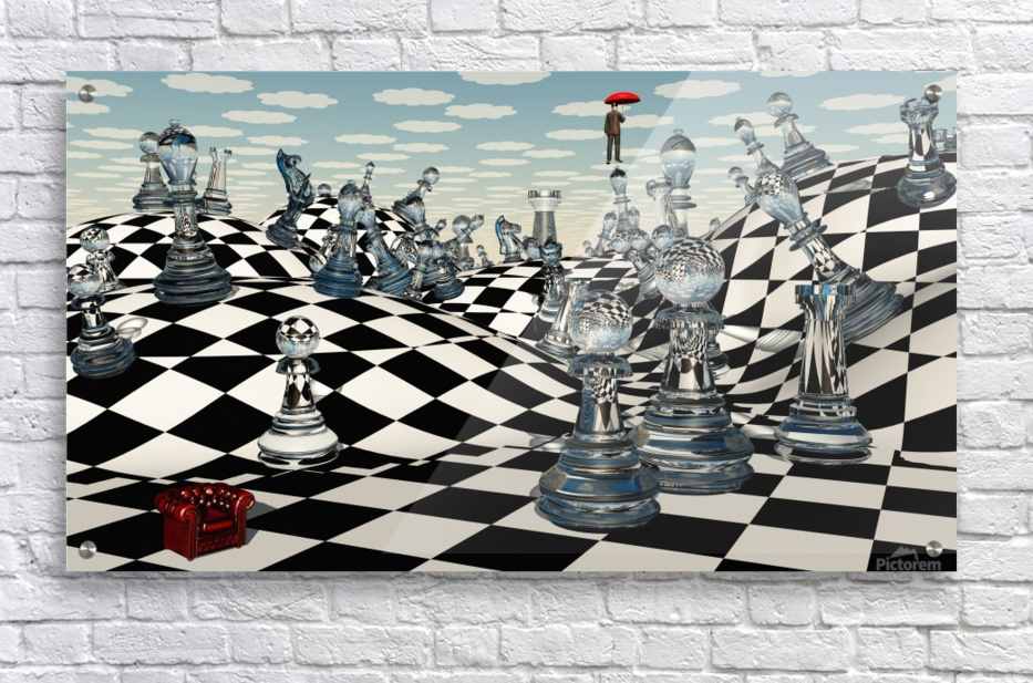 Fantasy Chess Bruce Rolff Canvas Artwork