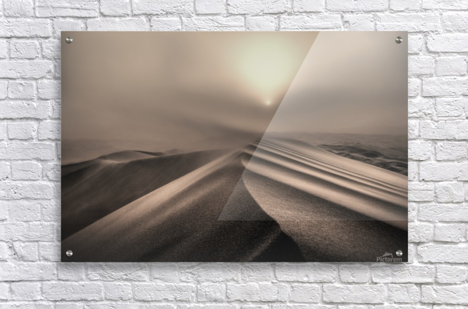 The perfect sandstorm  Acrylic Print