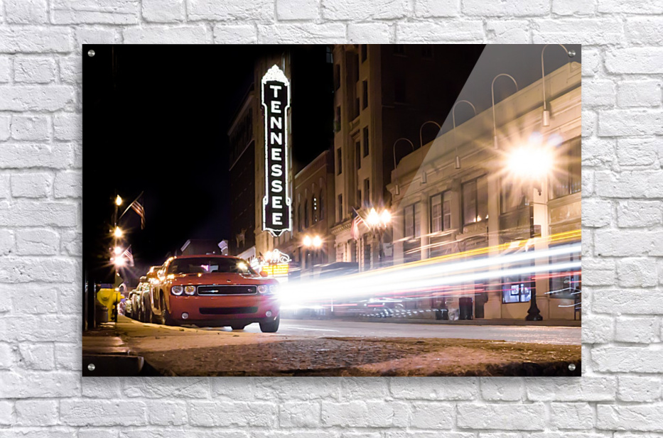 Tennessee Theater Color  Acrylic Print