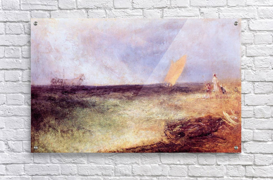 Outside of Ramsgate by Joseph Mallord Turner  Acrylic Print