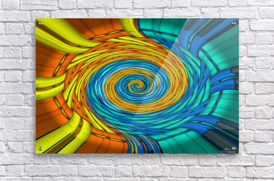 Magic Swirl  Acrylic Print